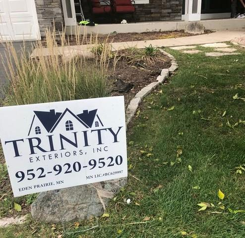 Trinity Exteriors Donates Proceeds of 2020 Sign Drive