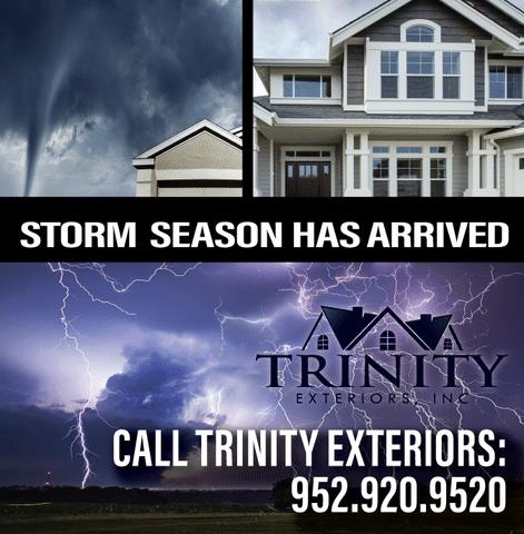 Hail Storms Damage Homes in Excelsior, Chanhassen and Eden Prairie
