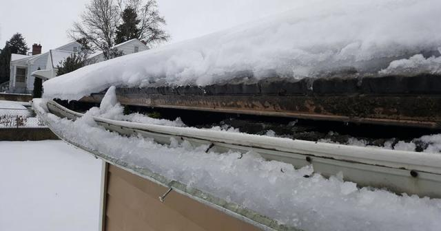 How to deal with Ice Dams on your home