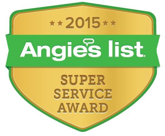 MasterShield Earns Esteemed 2015 Angie's List Super Service Award