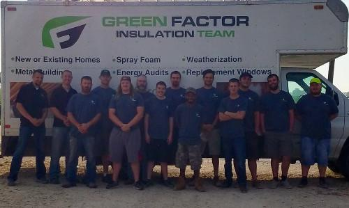 Green Factor Insulation Team