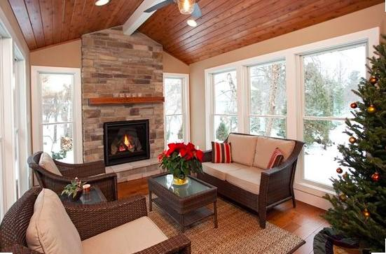 Relaxing Four Season Porch Design - Image 3