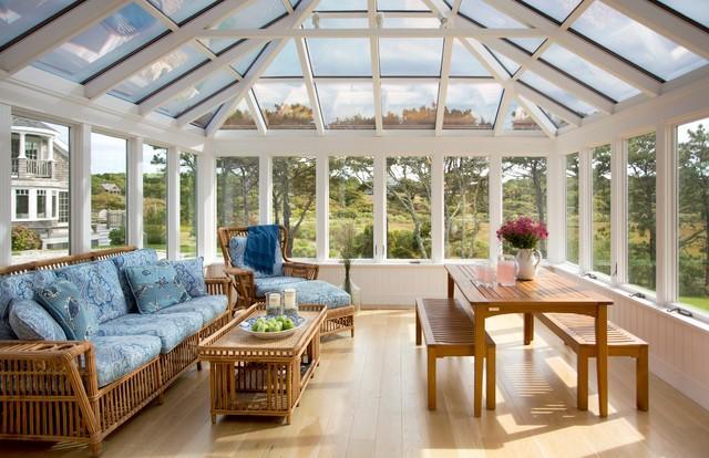 Relaxing Four Season Porch Design - Image 1