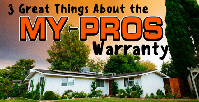 3 Great Things About the My-Pros Warranty