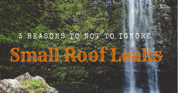 All roofs over time will fail if not replaced before their time is up. If this happen, it often results...