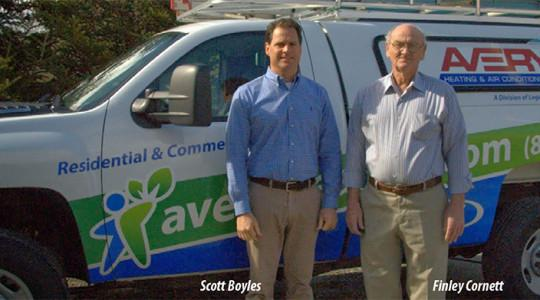 A longtime member of the Avery business community has become a part of a well-established climate systems organization from Winston-Salem....