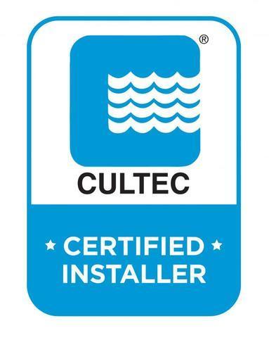 CULTEC Certified Installer badge