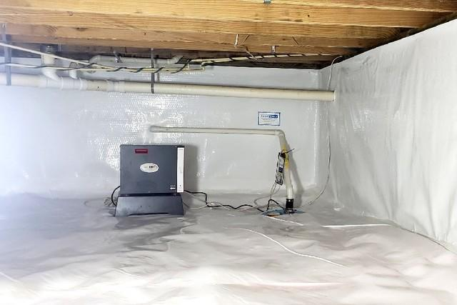 Controlling the Crawl Space Environment