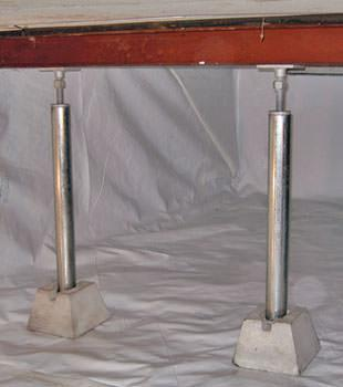 Are Your Crawl Space Floors Sagging?