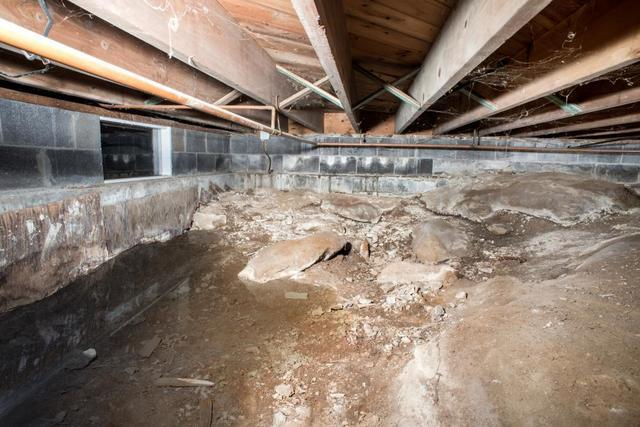 Damp, Musty Crawl Space? What's Really Occurring