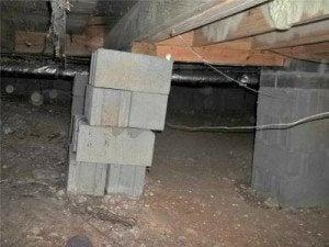Sagging Floors Are A Sign Of Crawl Space Structural Issues