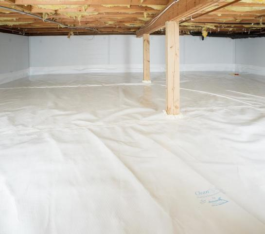 The Fortress Difference: Our Crawl Space Waterproofing Products