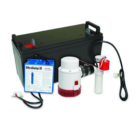 Battery Back Up Sump Pump Systems