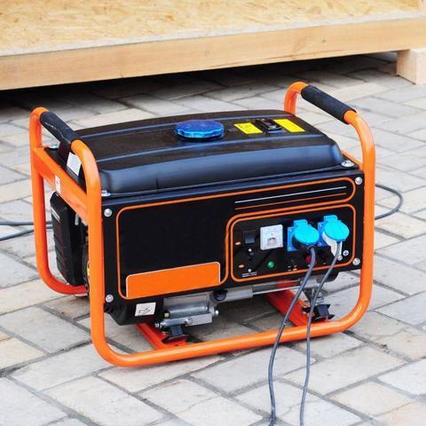 Storm Generator Outside
