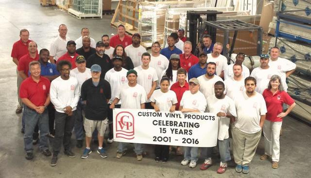 Custom Vinyl Products is celebrating 15 years of service to builders and homeowners in Coastal Virginia and Northern North Carolina....