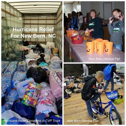 Hurricane relief to New Bern