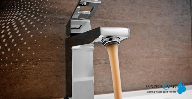 Faucet with Tannin Water