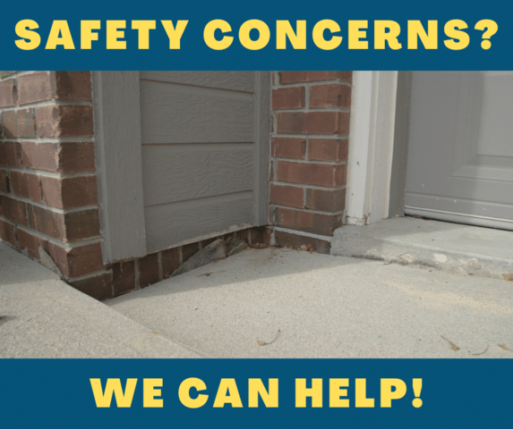 3 Concrete Safety Concerns Around Your Home During the Holidays