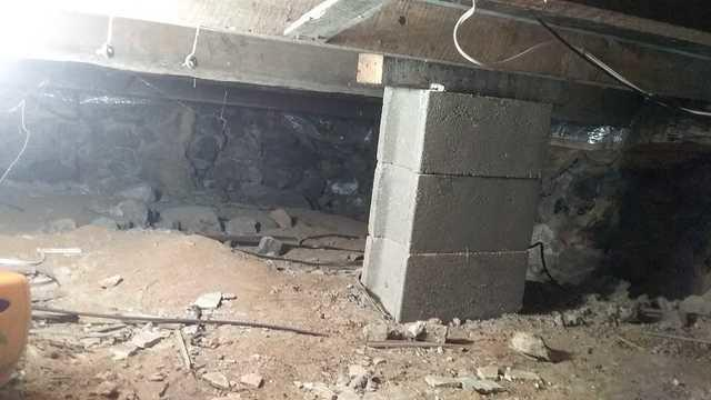 Why Are Crawl Space Floors Dirt in Etna, OH?