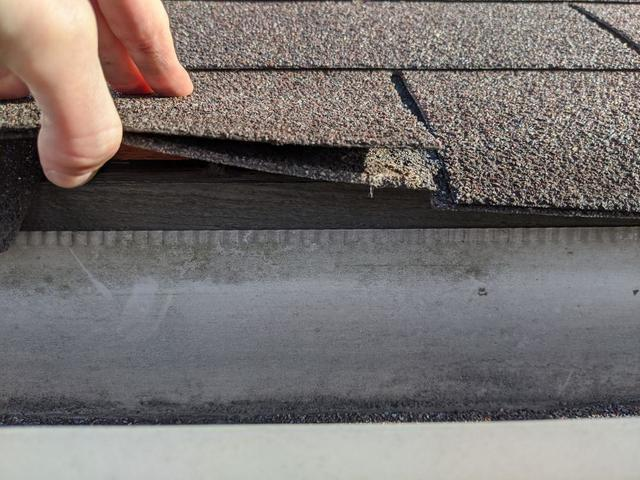 Just because there isn't a problem yet, doesn't mean you shouldn't get your roof inspected now. Just one missing shingle...