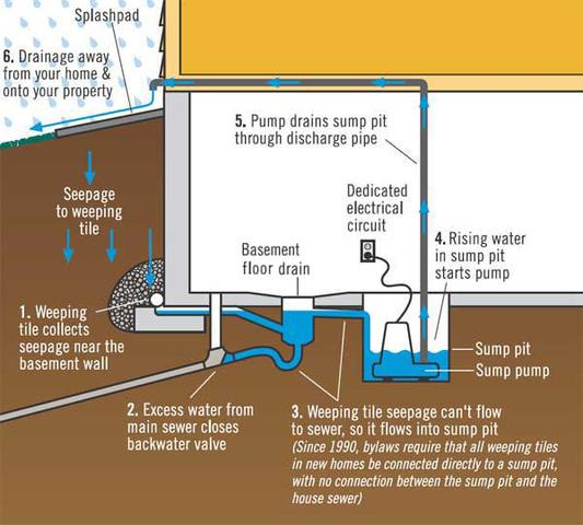 Prevent flooding, water damage, mold and mildew!