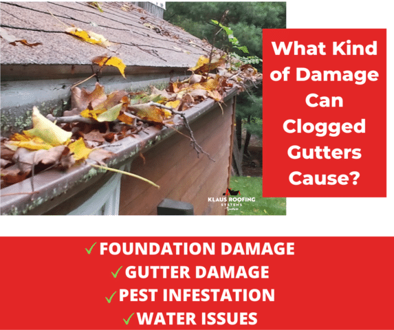 What Kind of Damage Can Clogged Gutters Cause?