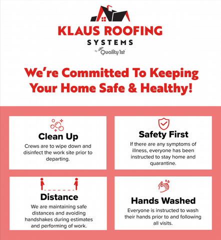 Klaus Roofing Systems & The Coronavirus