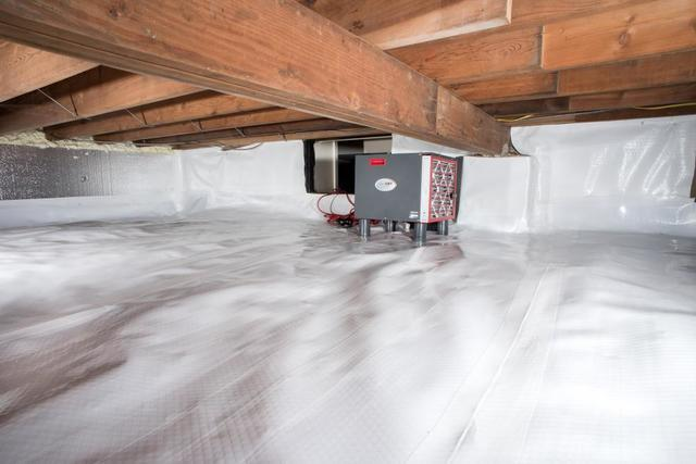 4 Steps to Conditioning a Crawl Space