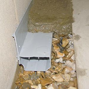 basement waterproofing drain system
