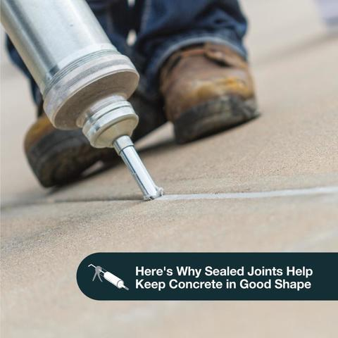 Benefits of Sealing the Joints in Your Concrete