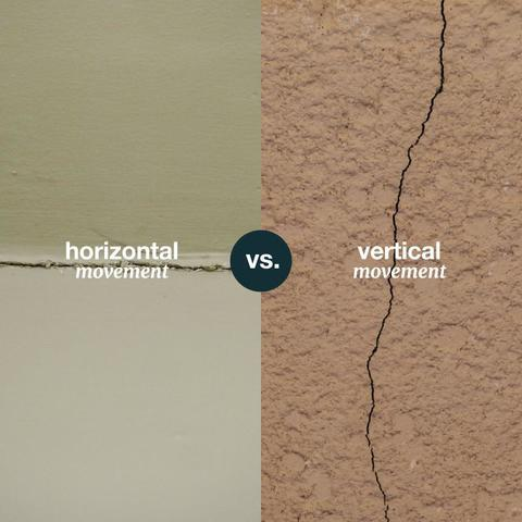Vertical vs. Horizontal Foundation Cracks: What Do They Mean?
