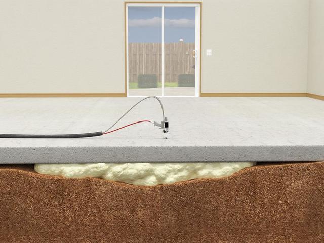 Repair sunken or uneven concrete