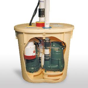 sump pump remove water from basement