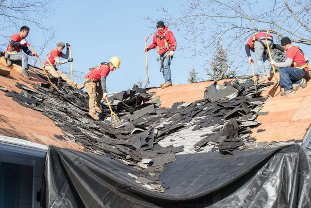 How Klaus Roofing Services by Master Services Repairs Hail-Damaged Roofs