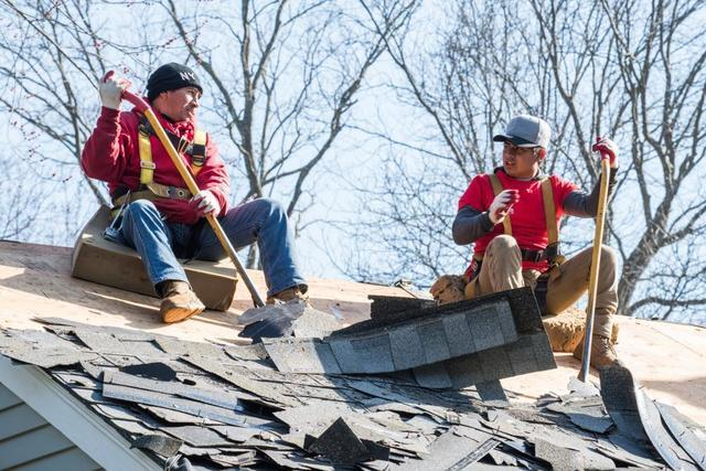 How Hail Damages Roofs