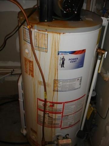 Water Heater Failure and how to avoid it.