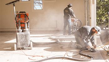 professional garage floor coating installation