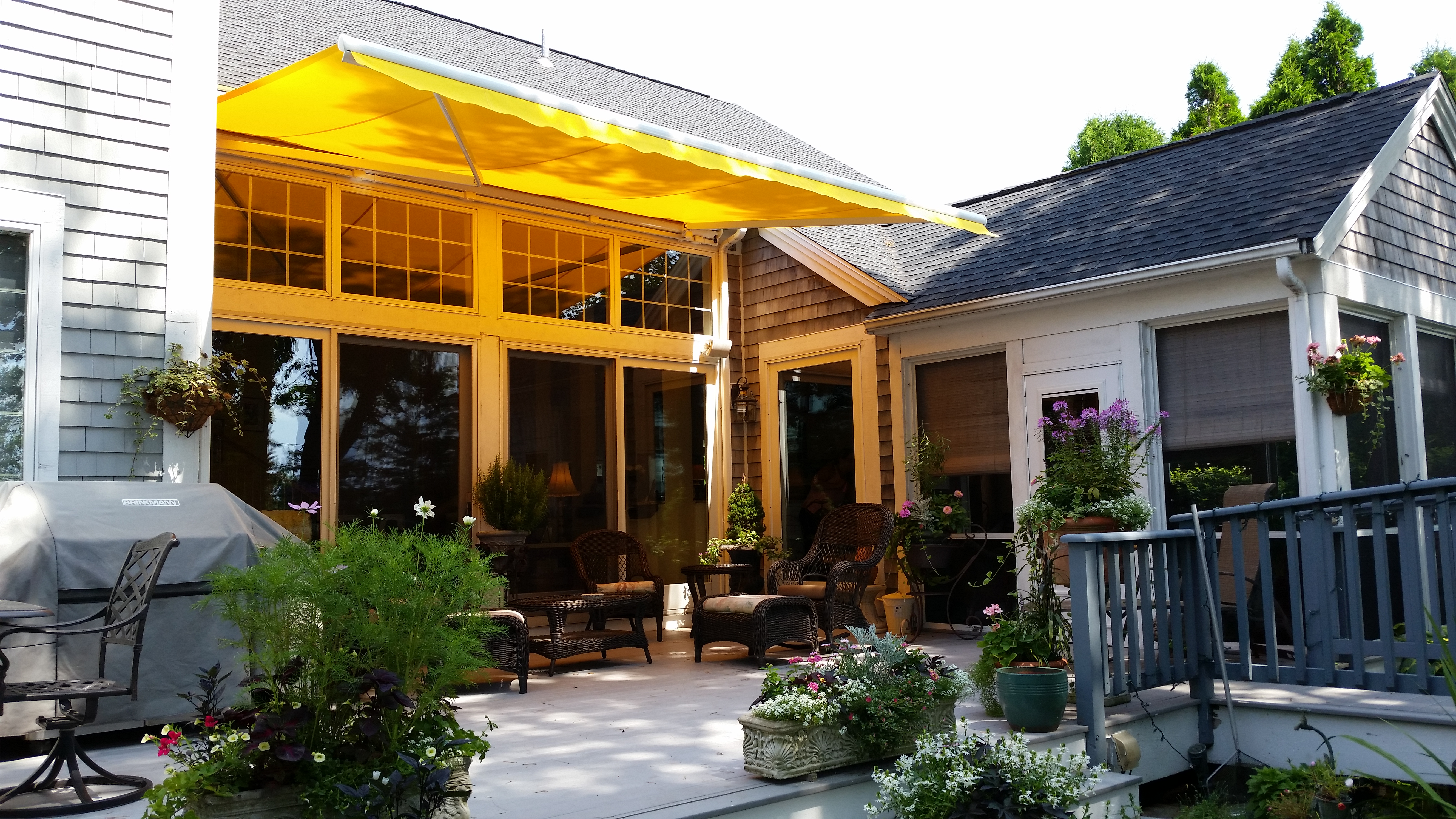 Stylish and Functional Awnings