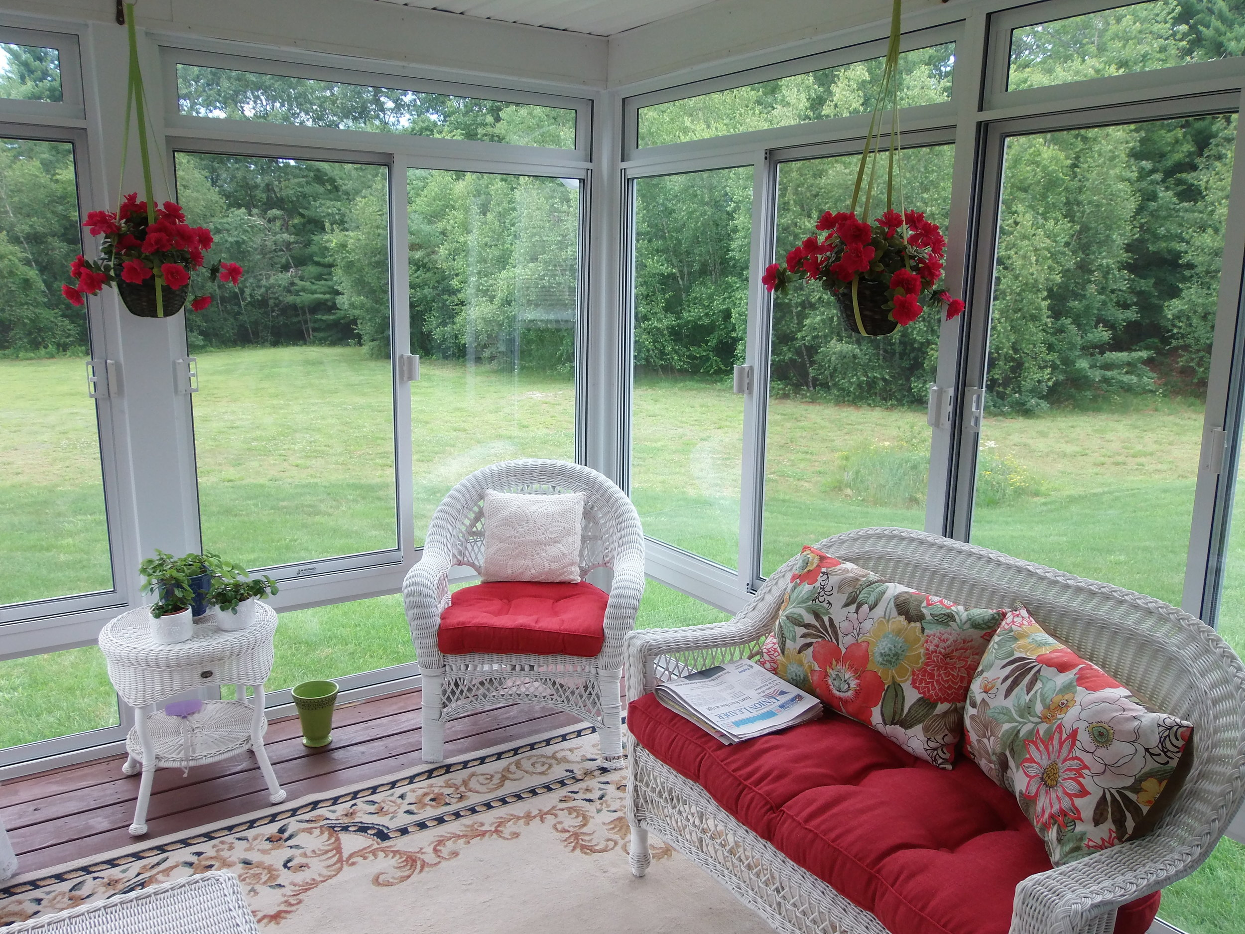 Design Tips For the Inside of Your Sunroom