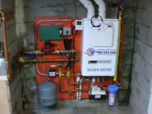 Navien CH -240 Combi Boiler Repair in Dryden, NY