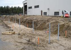 Brookhaven Recycling Facility - Helical Piles