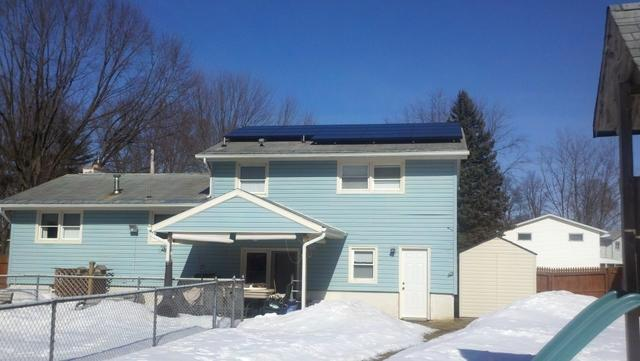 4.05 kW Solar Electric System in Liverpool, NY