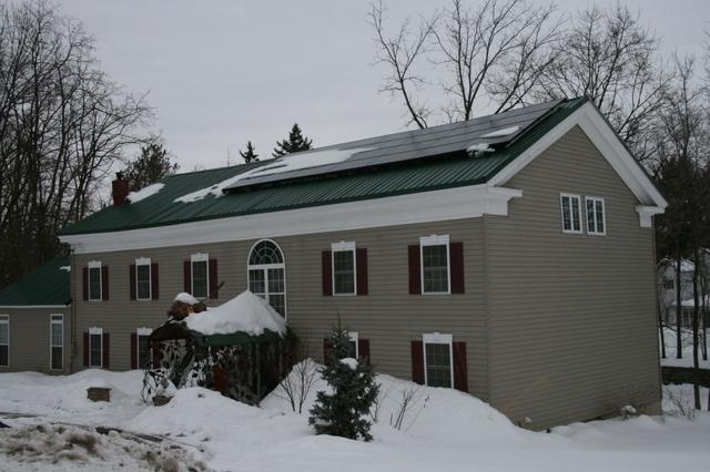 6.3 kw Solar Electric System in Jordan, NY