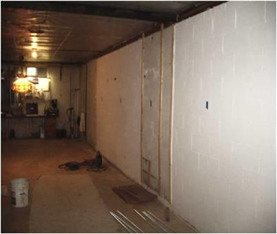 Basement Bowing Walls in NJ