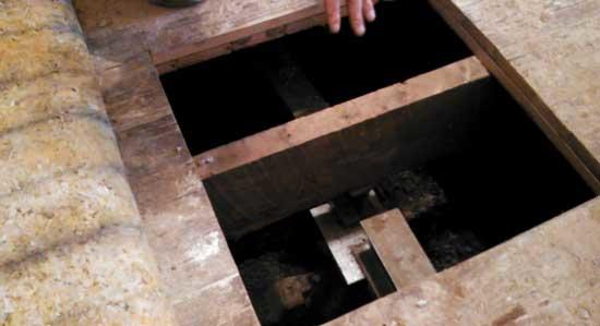 ATYPICAL Foundation repair with no crawlspace clearance