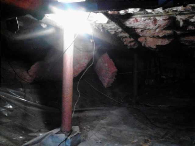 Crawl Space Repair in Portsmouth, RI!