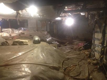 Crawl space repair in Charlestown, RI