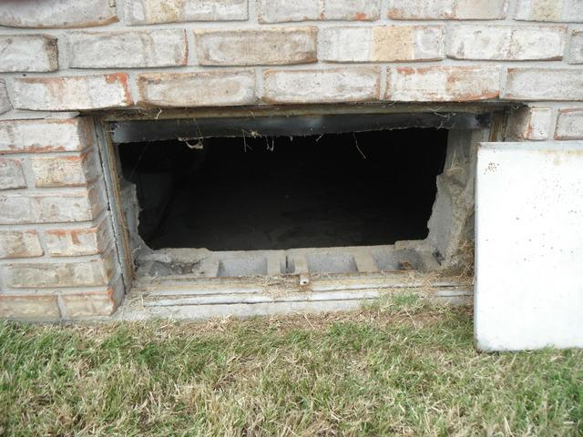 Leaking Crawlspace from Recent Rain