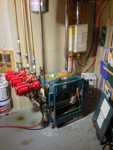 Navien Combi Boiler/On-Demand Water Heater Installation in Newark, NY