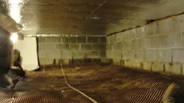 Crawl space repair Nantucket, MA!